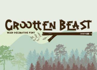 Grootten Beast Font