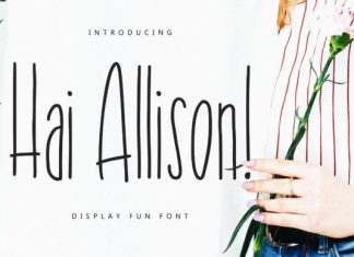Hai Allison Font