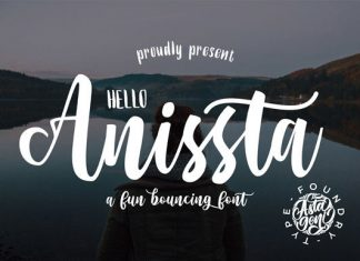 Hello Anissta Font