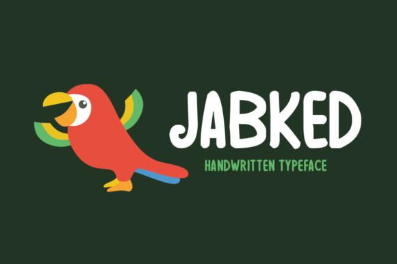 Jabked Font
