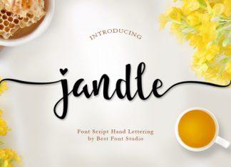 Jandle Font