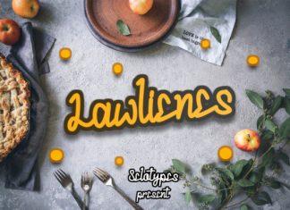 Lawlienes Font