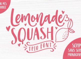 Lemonade Squash font