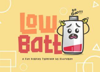 Low Batt Font