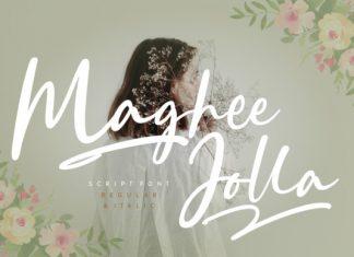 Maghee Jolla Font