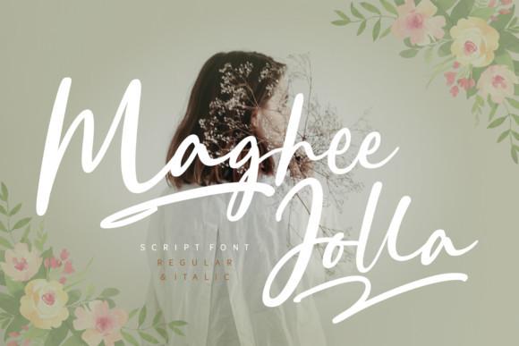 Maghee Jolla Font - iFonts xyz