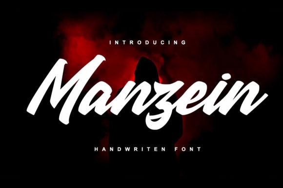 Manzein Font