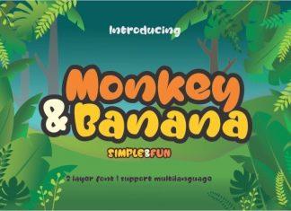 Monkey & Banana Font