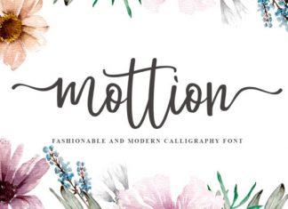 Mottion Font
