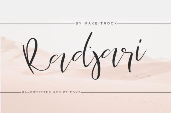 Radjari Font