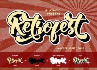 Retrofest Font
