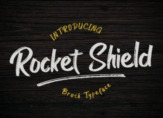 Rocket Shield Font