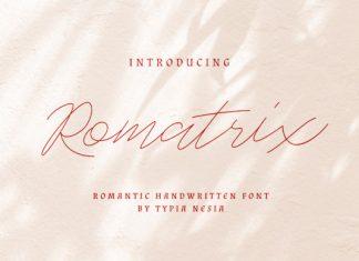 Romatrix Font