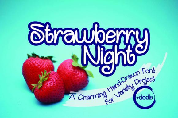 Strawberry Night Font