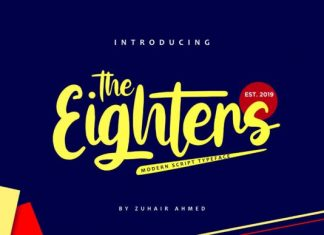 The Eighters Font