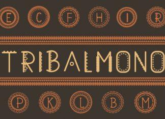 Tribalmono Font