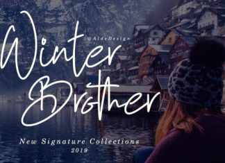 Winter Brother Font