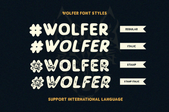 Wolfer Font