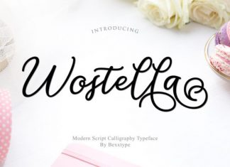 Wostella Script