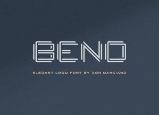 Bend Font