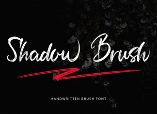 Shadow Brush Font