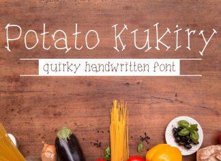 Potato Kukiry Font