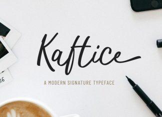 Kaftice Font