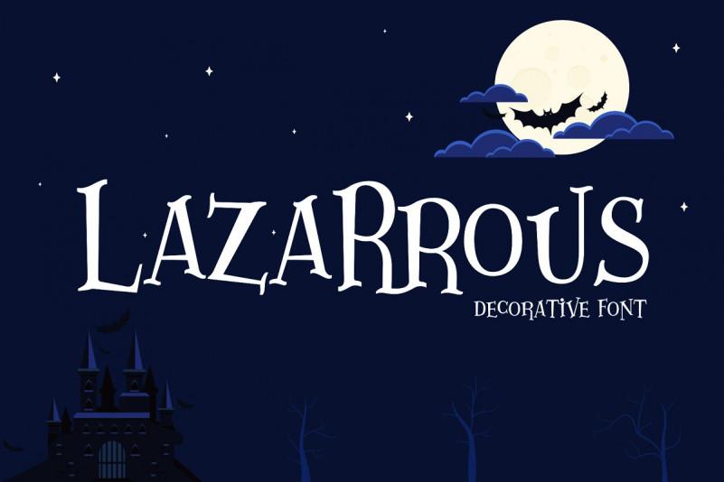 Lazarrous Font
