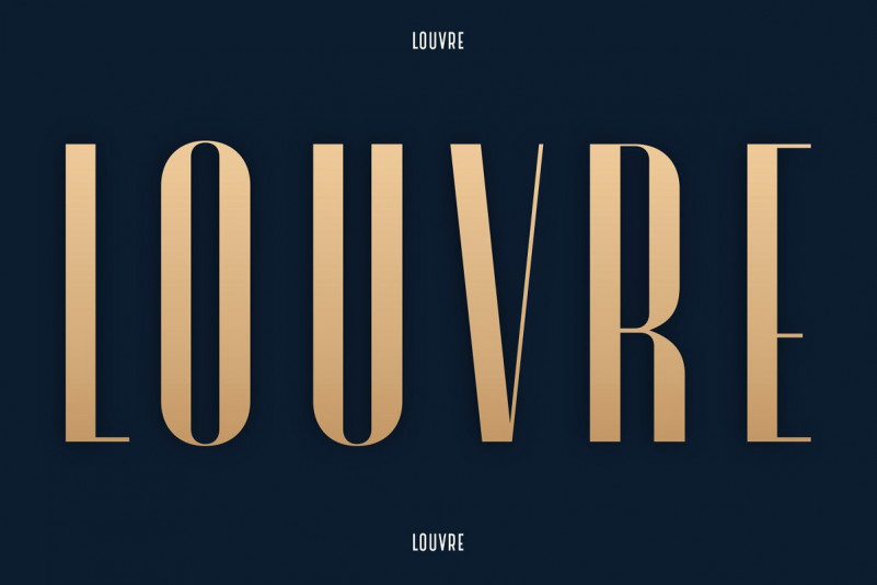 Louvre - A Classic Display Font