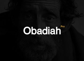 Obadiah pro - Modern Typeface Font