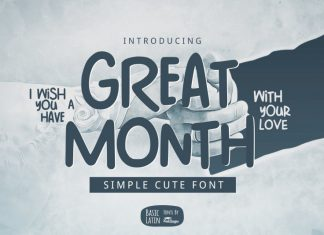 Great Month Font