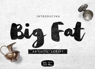Big Fat Brush Font