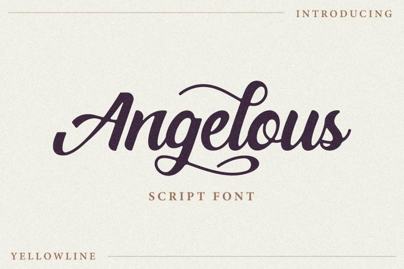 Angelous Font