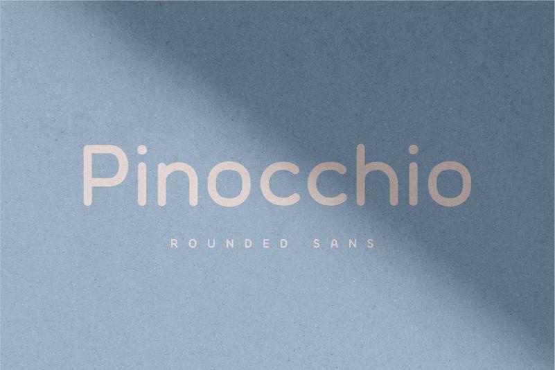 Pinocchio - Rounded Sans Font