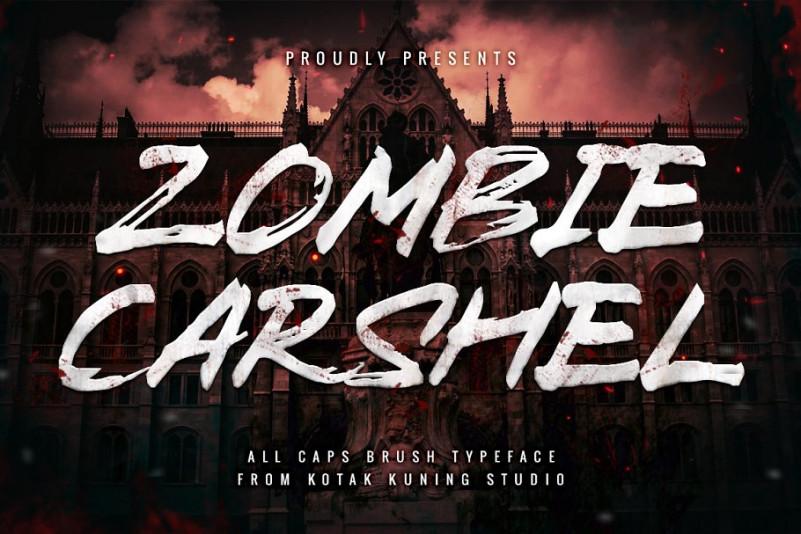 Zombie Carshel Font
