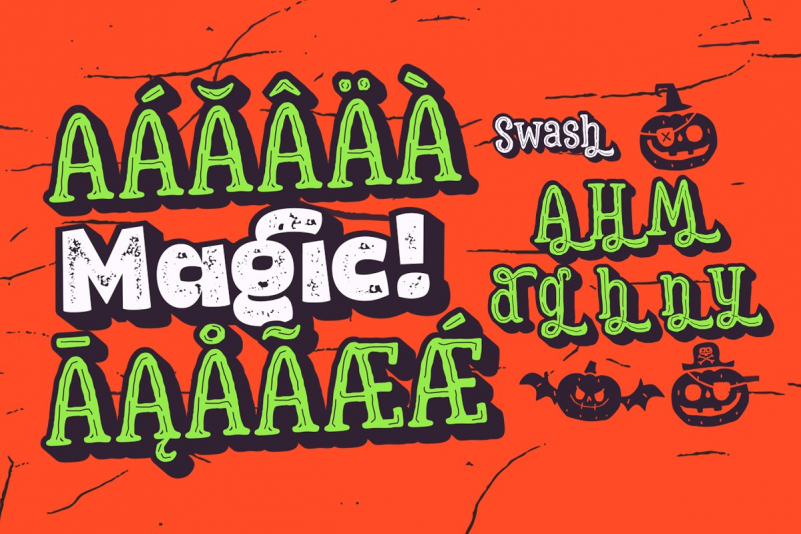 Hatter Halloween Font