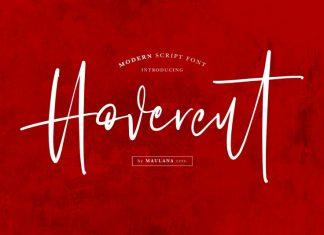 Hovercut Font