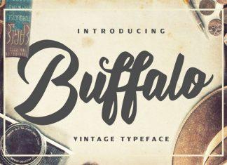 Buffalo Vintage Font