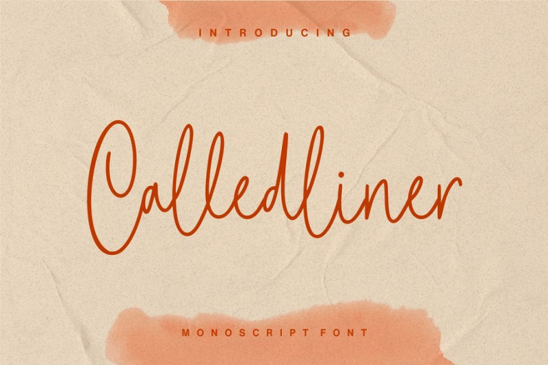 Calledliner Font