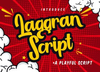 Laggran Font