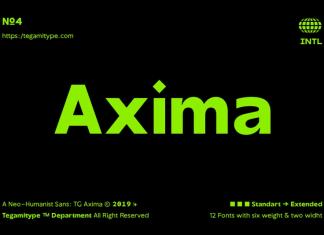 TG Axima Font