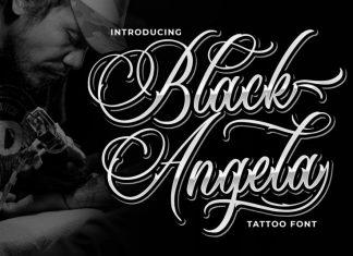 Black Angela Font