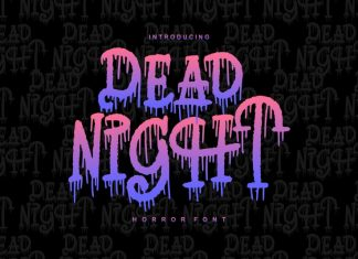Dead Night Font