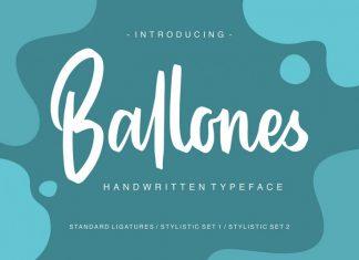 Ballones Font