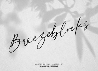 Breezeblocks Modern Casual Signature