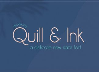 Quill & Ink Font