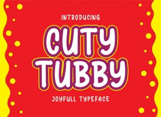 Cuty Tubby Font