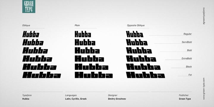 Hubba Font