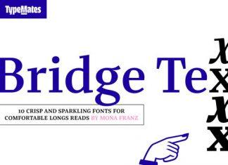 Bridge Text Font