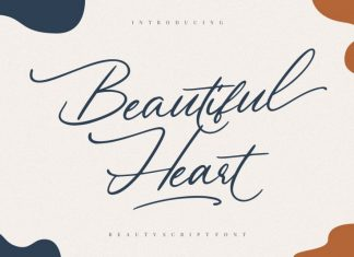 Beautiful Heart Font